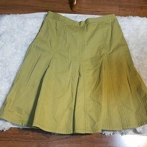 Boden Pleated skirt